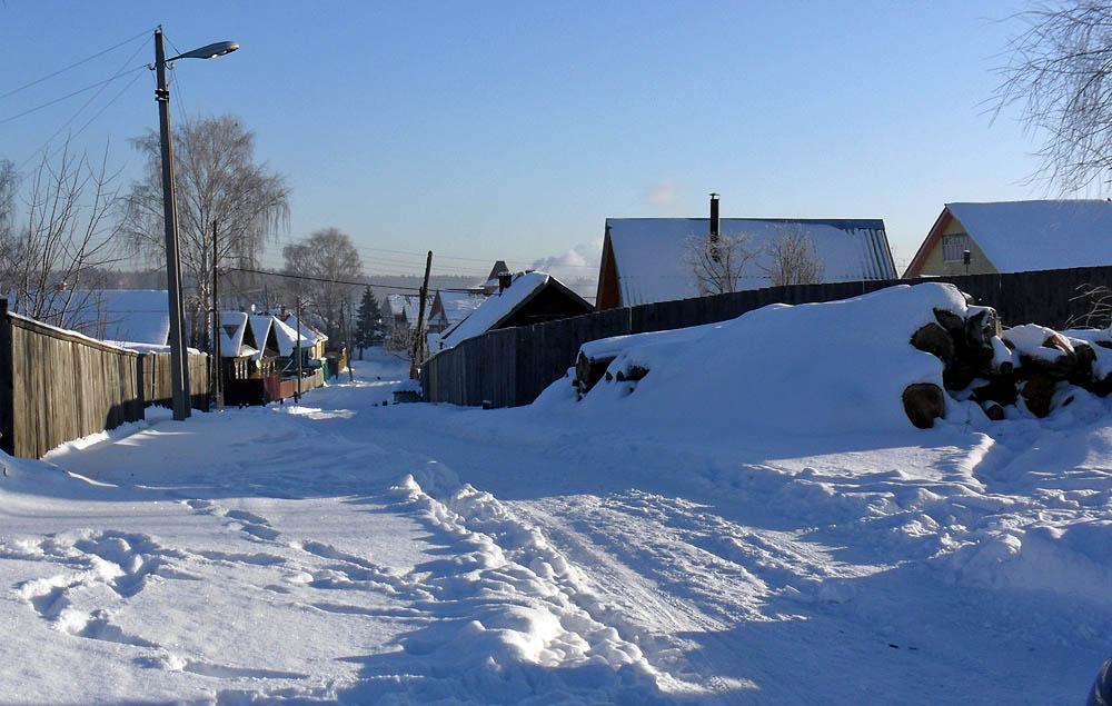 зимой в Кокшайске