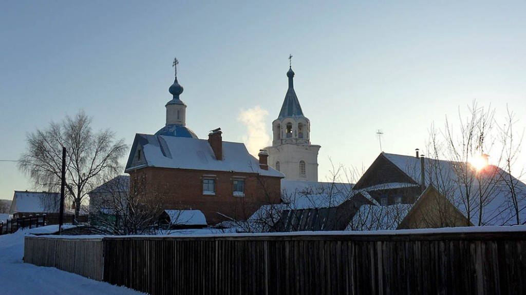 Покровский храм в Кокшайске