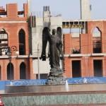 Фонтан «Архангел Гавриил» - один из самых больших и красивых в Йошкар-Олы.