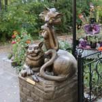 «Йошкина кошка» установлен на проспекте Гагарина.